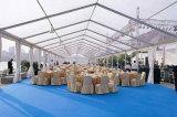 Tenda bianca del lusso del parasole del PVC del Windbreak promozionale della prova del tempo