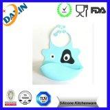Busbana francese animale del bambino del silicone di disegno del commestibile della FDA varia