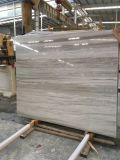 白い砂の大理石または自然な大理石またはベージュまたは黄色または白い大理石または石のタイルまたはカウンタートップまたはKitchentopまたは大きい平板または築壁の大理石