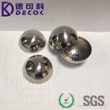 El fabricante de la fábrica produjo del acero inoxidable 304 de la bola de acero cortada del hemisferio mitad sólida