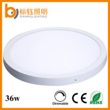 Usine Wholesale 36W SMD Round Ceiling Lamp Surface Mounted DEL Panel Light
