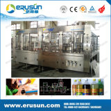 Frascos plásticos máquina de engarrafamento carbonatada das bebidas