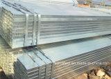 Tubulação quadrada de aço galvanizada do MERGULHO quente de ASTM