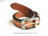 OEM. Les courroies en cuir de modèle de commerce extérieur hommes des tous neufs en cuir gravé en relief de courroies