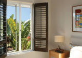 Standardaluminiumumhüllung-hölzernes Flügelfenster-Fenster