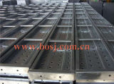 Construction Lift Roll Forming Making Machineミャンマーのための電流を通されたMetal Scaffolding Plank