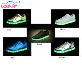 Zapatos ligeros coloridos de la simulación LED con 11colors cambiable