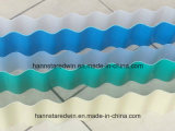 Плитка толя листа UPVC волны Одн-Слоя пластичная Corrugated для здания крыши фабрики