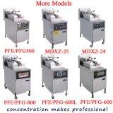 A pressão de Pfe-600L fritou a frigideira usada máquina da pressão da moeda de um centavo de Henny da galinha de Broasted