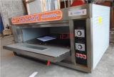 1 de Oven van het Dek van de Deur van het Roestvrij staal van de laag en van het Gas van 2 Dienbladen (zbb-102M)