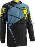 Guida che attraversa il paese nera Jersey (MAT90) di Motorcross della maglietta di sport