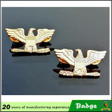 Gold personalizzato Eagle Badges per Clothes