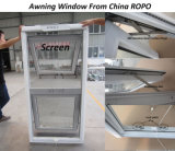 Acristalamiento doble UPVC Top Hung de Windows con Australia Standard