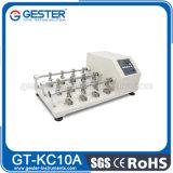 Tester di flessione di cuoio di concentrazione di resistenza (GT-KC10)