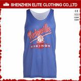 Basket-ball réversible Jersey du plus défunt modèle 2016 avec le logo et le numéro