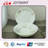 Opalglasware-Essgeschirr-gesetzte Filterglocke/Platten-/Milch-Becher
