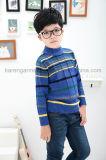 Abbigliamento costolato modellato a strisce dei bambini dei polsini & del collare