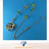 Goede Kwaliteit en de Hete Juwelen N6779 van de Halsband van CZ van de Kleur van de Juwelen van de Manier van de Verkoop Echte Zilveren