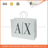 La alta calidad crea la bolsa de papel para requisitos particulares con la maneta de papel