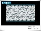 lacet de Lycra de garniture de lacet de prix usine de 18cm pour Madame Underpants
