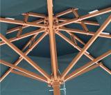 зонтик патио зонтика 9 ' /10' напольным стальным используемый садом