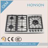 Stufa di gas della fresa del gas dell'infiammazione automatica dell'acciaio inossidabile HS5807