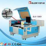Bordado, máquina de estaca irregular do laser da câmara de vídeo da etiqueta (GLS-9060)
