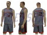 Uniformes reversibles de calidad superior de encargo del baloncesto de la ropa de deportes profesional