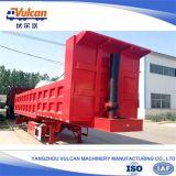 Reboque 2016 hidráulico de venda quente do Tipper do transportador do estaleiro da suspensão da fábrica