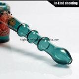 Peleles de cristal del martillo de los tubos que fuman
