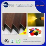 Fabricant Bois Grain Effet Polyester Powder Coating