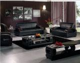 Sofá moderno fijado con el cuero italiano para la sala de estar