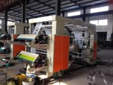 Machine d'impression flexographique d'ordinateur de six couleurs