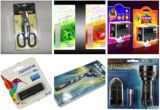 Efectos de escritorio eléctrica Celulares Accesorios Cepillo de dientes de la ampolla de papel cardado máquina de embalaje
