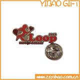 Fördernder Metal Pin Badge mit Silver Plating (YB-p-001)