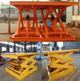 Lijst van de Lift van de Schaar van het Platform van het Staal van het mangaan de Opheffende Mini Elektrische met Wisselstroom