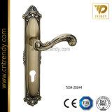 Ручка двери античного латунного кабеля пера цвета нутряная деревянная (Z6044-ZR05)