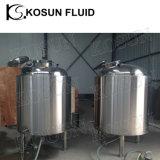 el tanque de almacenaje inoxidable de la agua caliente de la chaqueta de acero de 2000L 3000L