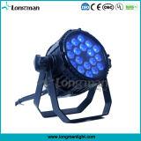 Indicatori luminosi esterni di alluminio di IP65 18*10W RGBW LED