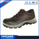 人の革鋼鉄つま先の帽子の安全靴S1p Ufa002