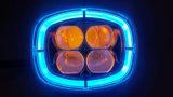Markcars 기둥 플러드 반점 광속 개조 LED 일 빛