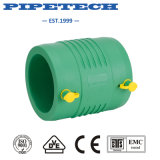 El gas plástico Pipe electrofusión montaje