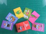Cartão de jogo por atacado das crianças, smart card do jogo de mesa
