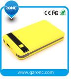 8000mAh Banco de alimentación portátil móvil con cable USB incorporado