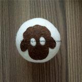 Attraente e durevole 100% lana lavanderia Dryer Felt Balls