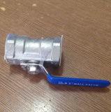 Шариковый клапан резьбы нержавеющей стали 1PC (TP304L)