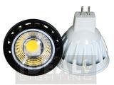 LED MR16 7Wのスポットライトの穂軸Alu +Plastic