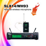 Микрофон шлемофона UHF сказового качества Slx14/Wh93 Skytone беспроволочный