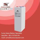 Bateria tubular 2V 1500ah de Opzv do gel da placa da bateria solar
