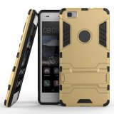 Крышка случая сотового телефона Kickstand для Huawei P8 Lite